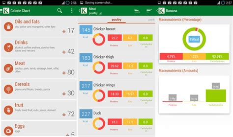 calorie counter app android 10 best calorie counter app for android to trim the