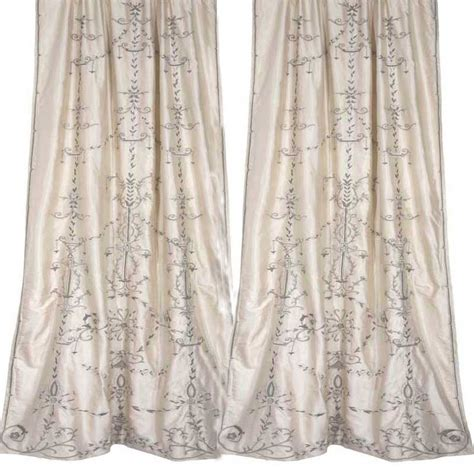 ivory drapes faupel readymade curtains