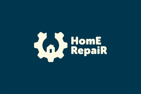 home repair logo logo templates on creative market