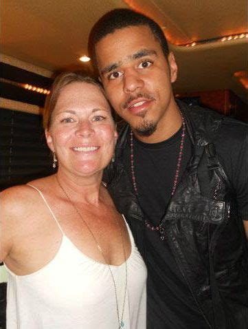 J-Cole out'chea lookin' like side show bob boolin with the ... J Cole Parents