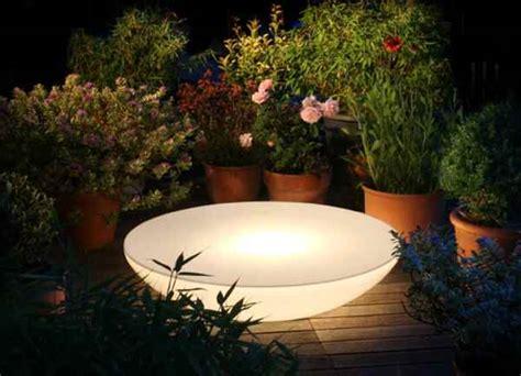 Lichtobjekte Garten