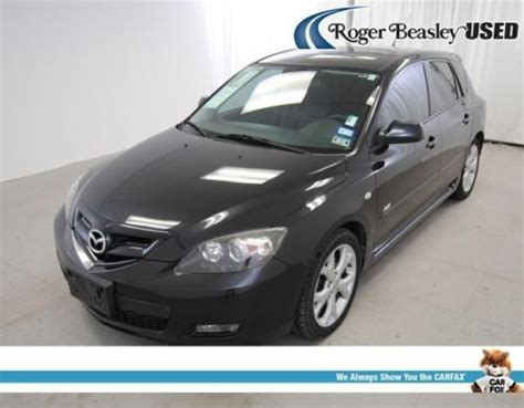 mazda 3 2008 aux purchase used 2008 mazda3 5 door leather heated seats