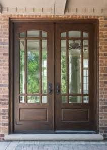 exterior wood doors with glass panels furniture alluring wooden front doors with glass for