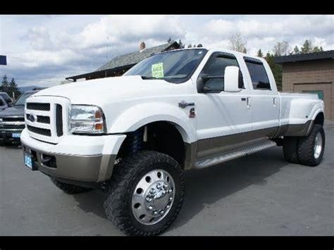 ford  king ranch lifted cummins twin turbo diesel