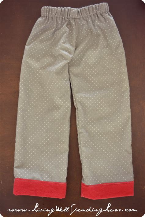 simple pattern for pants easy to sew pajama pants living well spending less 174