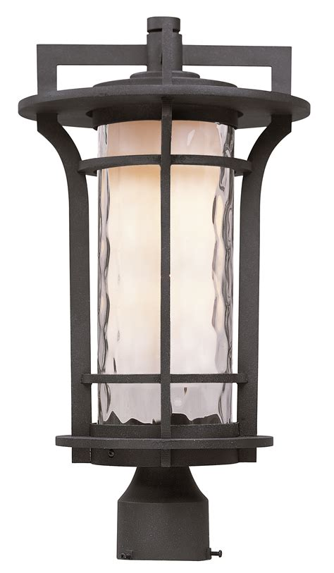 landscape lighting mounting posts oakville led 1 light outdoor pole post lantern outdoor pole post mount maxim lighting