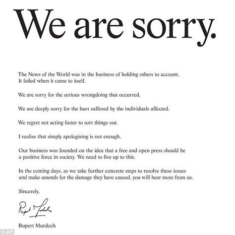 Apology Letter Sign 원칙이 빠져있는 사과문들 우리에게 과연 원칙이라는 것은 존재하는가