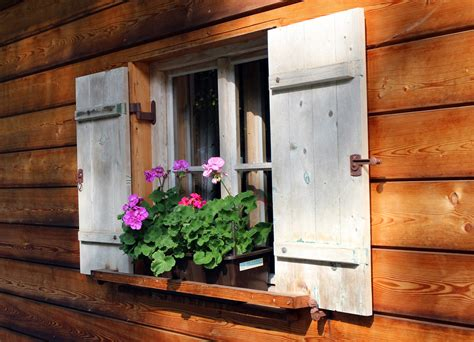 images wood home facade room deco flowers