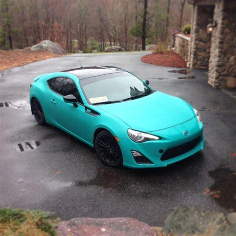 subaru teal plasti dipped my car teal scion fr s forum