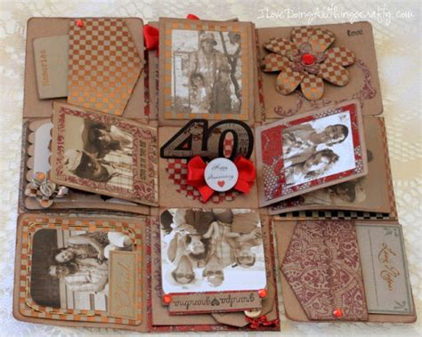 explosion box anniversary tutorial 17 best images about craft ideas exploding boxes on