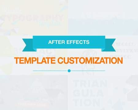 professional after effects template customization