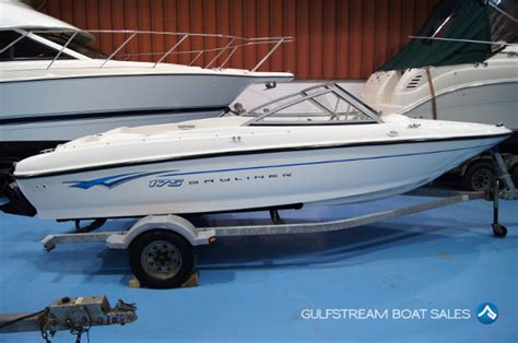 used boats for sale in ireland bayliner 175 bowrider for sale uk ireland at gulfstream