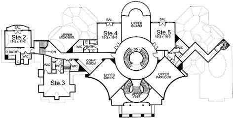 palace house plans a palace of a home 12015jl architectural designs house plans