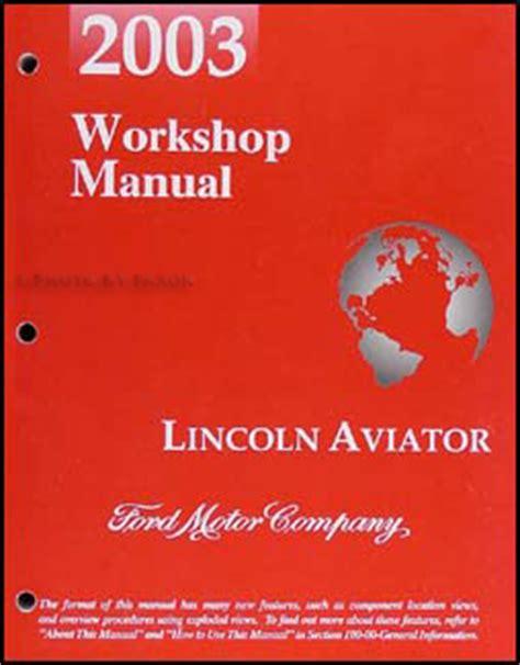 how to download repair manuals 2003 lincoln aviator seat position control 2003 lincoln aviator repair shop manual workshop service book original oem ebay