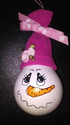 elsa sock snowman elsa frozen painted light bulb ornament lightbulbs light bulb bulbs