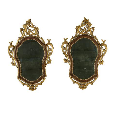 cornici e specchiere coppia di specchiere barocchetto specchi e cornici