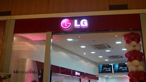 lg mobile shop a inaugura 231 227 o da lg mobile store em maring 225 interior do