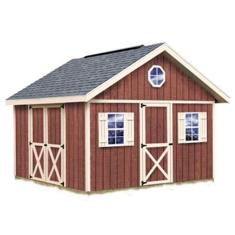 best barns fairview 12 ft x 12 ft wood storage shed kit