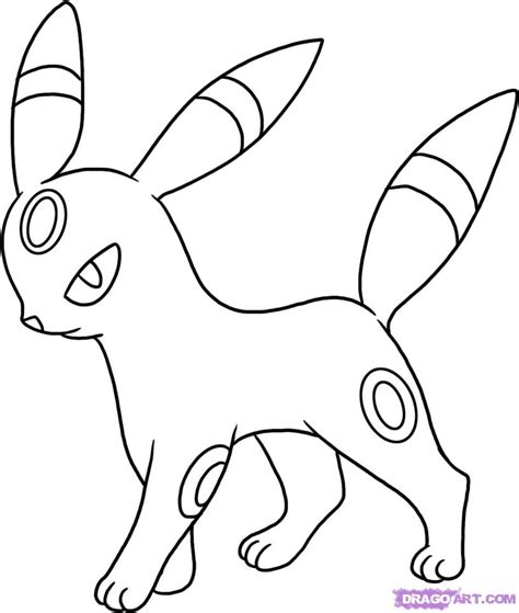 steps on how to draw doodle how to draw umbreon step by step characters