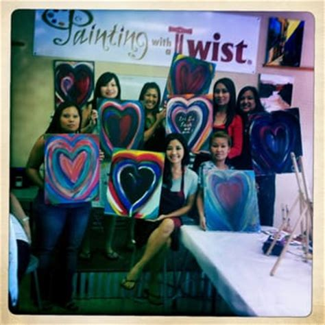 paint with a twist arlington painting with a twist 48 photos 16 reviews paint