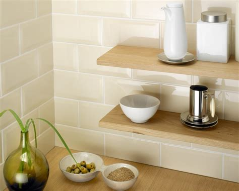 cream kitchen tile ideas metro bevelled edge 200x100 cream tile 1485 metro