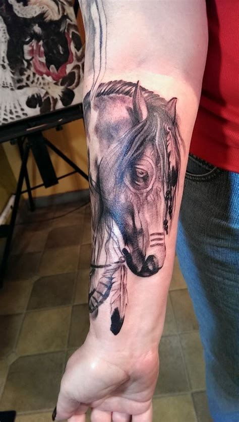 war horse tattoo war in progress yeahtattoos