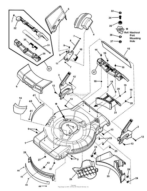 snapper mower parts diagram snapper nxt22875ee 7800752 22 quot 8 75gt self propelled