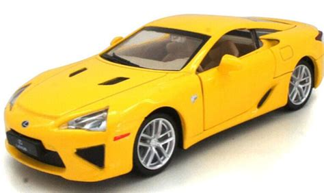 Msz Lexus Lfa Diecast White 1 43 black yellow white 1 32 diecast lexus lfa