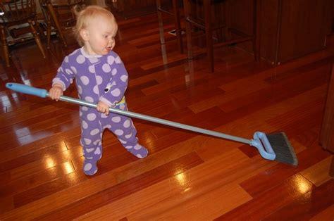 Sweeping The Floor by October 2010 Bobbleheadbaby