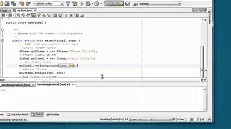 Java Swing Tutorial by Swing Tutorial For Beginners