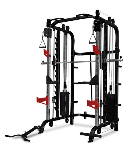 Alat Fitness Smith Machine power racks smith machines bodyworx ftr70 multi function express trainer free trojan fid