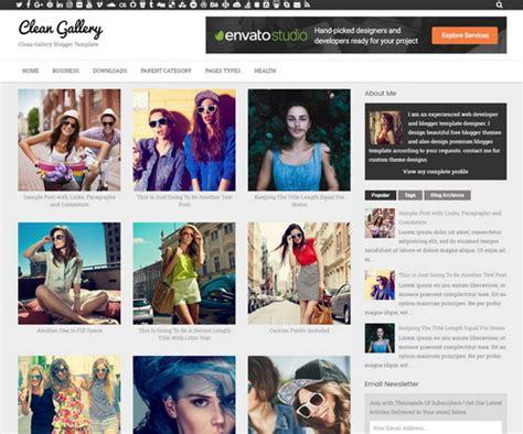 blog themes gallery clean gallery blogger template newbloggerthemes com