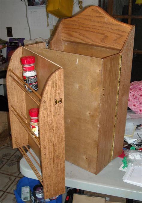 folding spice rack   designed  built
