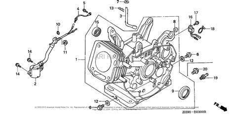 honda gx240 parts diagram gc190 honda engine diagram honda gx340 service manual