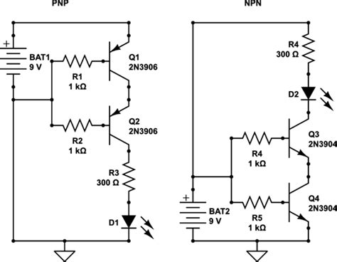 a pnp transistor is connected in a circuit so that the collector base junction remains how to connect two transistors in series electrical engineering stack exchange