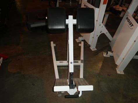 life fitness hyperextension bench midwest used fitness equipment trotter 45 degree
