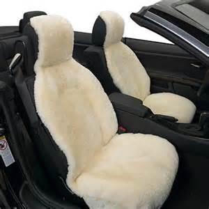 Sheepskin Seat Covers Qld Eurow Sideless 100 Australian Sheepskin Seat Cover Ebay