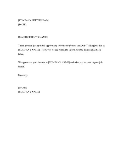 Rejection Letter To Applicant Rejection Letter For Applicants After Drugerreport732 Web Fc2