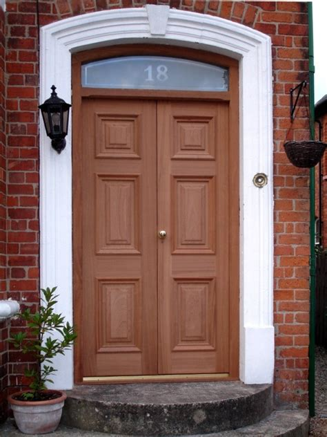 Brown Door Rustic Entry Doors Exterior Doors Belfast