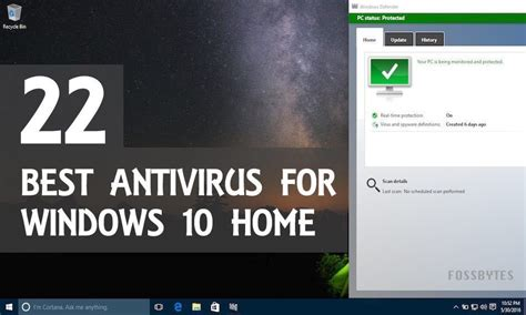 best security for windows 22 best antivirus software for windows 10 home pcs