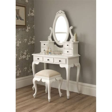 White Vanity Desk With Mirror Home Furniture Design Desk With Mirror