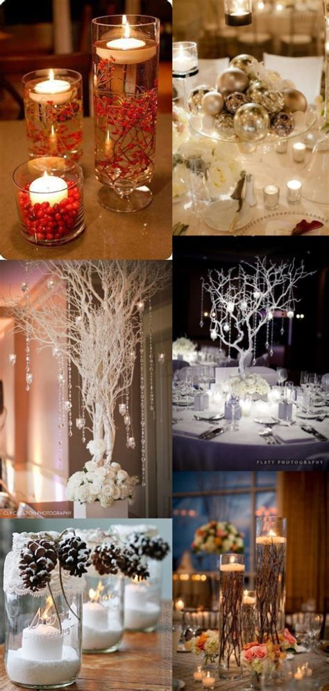 winter wedding theme centerpieces 2 30 winter wedding ideas for the winter weddings