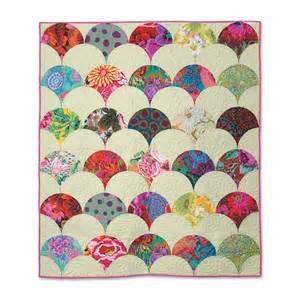 how to make a clamshell quilt quiltwoman com