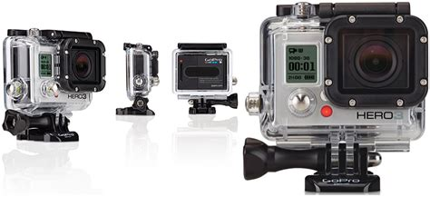 Jual Gopro 3 Silver Edition gopro hero3 silver white edition outdoor waterproof