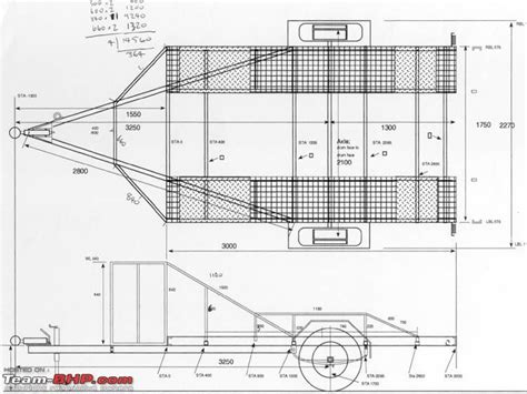 Diy Hard Floor Cer Trailer Plans | attaching a trailer trolley to pajero team bhp