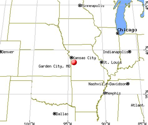garden city kansas time zone garden city missouri mo 64747 profile population maps