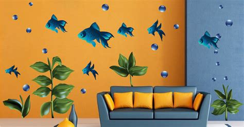 fish wall murals fish nursery wall decal murals primedecals