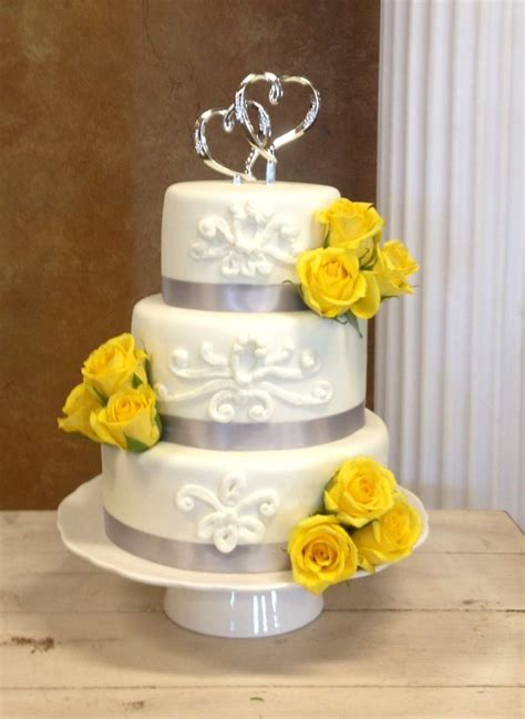 yellow and grey wedding cakes a wedding cake blog wedding cake yellow and gray my cakes and cupcakes