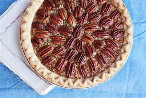 Big Pie Brownis brownie pecan pie a beautiful mess