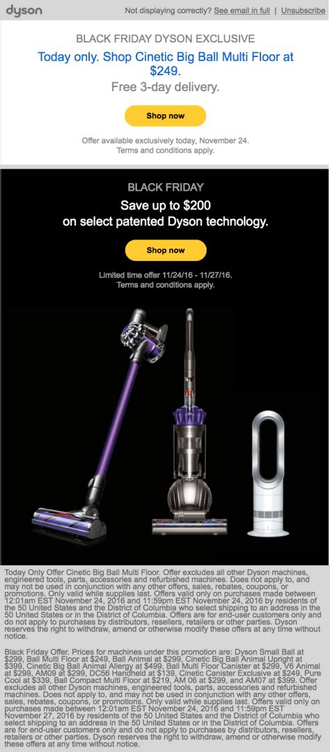dyson fan black friday dyson black friday 2016 sale top in store deals